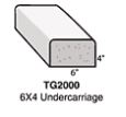 6x4 Undercarriage Style Curb